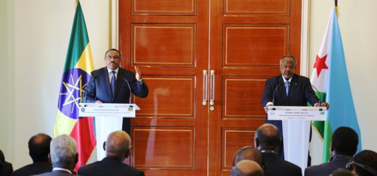 Prime Minister Hailemariam : Ethiopia and Djibouti are surfing in a same boat