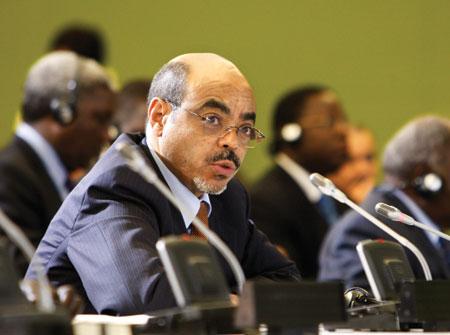 """""""Prime Minister Meles Zenawi of Ethiopia"""""""