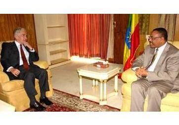 PM Hailemariam holds talks with EU Special Envoy to Horn
