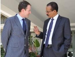 Amb. Berhane meets Irish State Minister