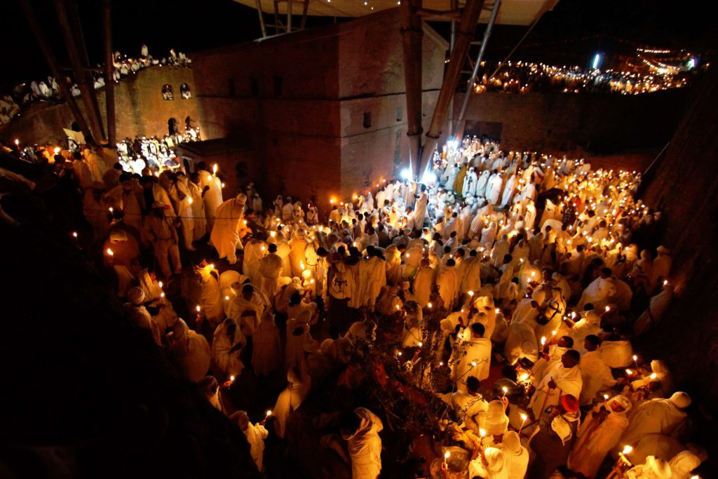 Christmas (Gena) Celebration in Lalibela. © Ethiopian Tourism Organization