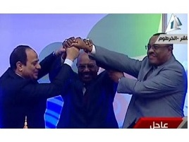 Egypt, Ethiopia and Sudan sign declaration of principles to resolve Nile dam dispute