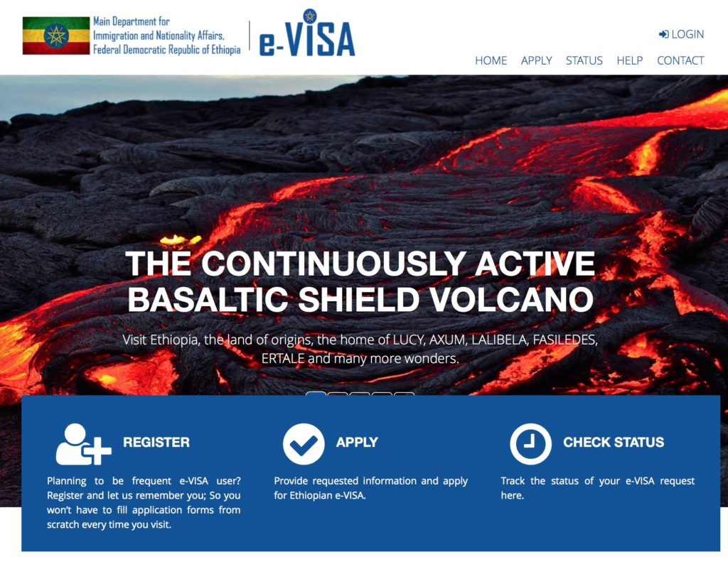 Ethiopia launches online entry visa application and issuance of an evisa falaconquin