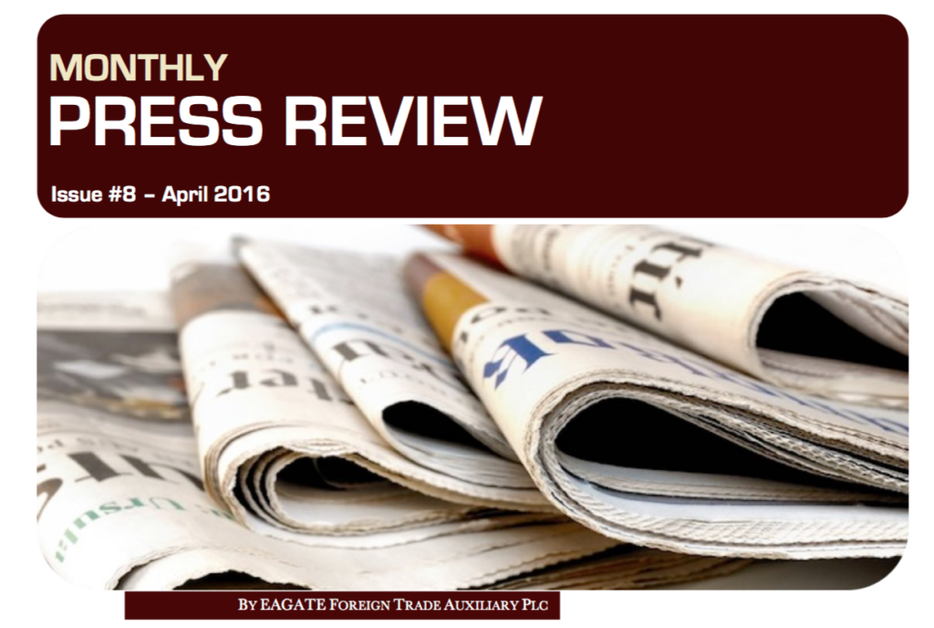 Monthly Press Review EAGATE