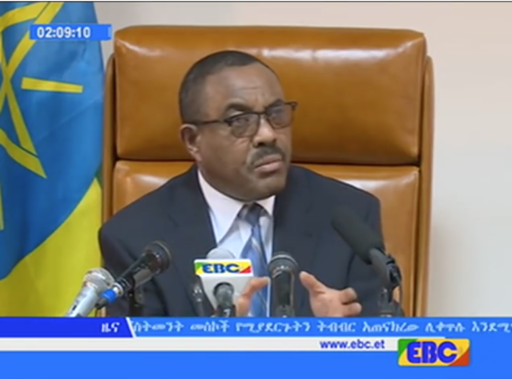 Prime Minister Hailemariam