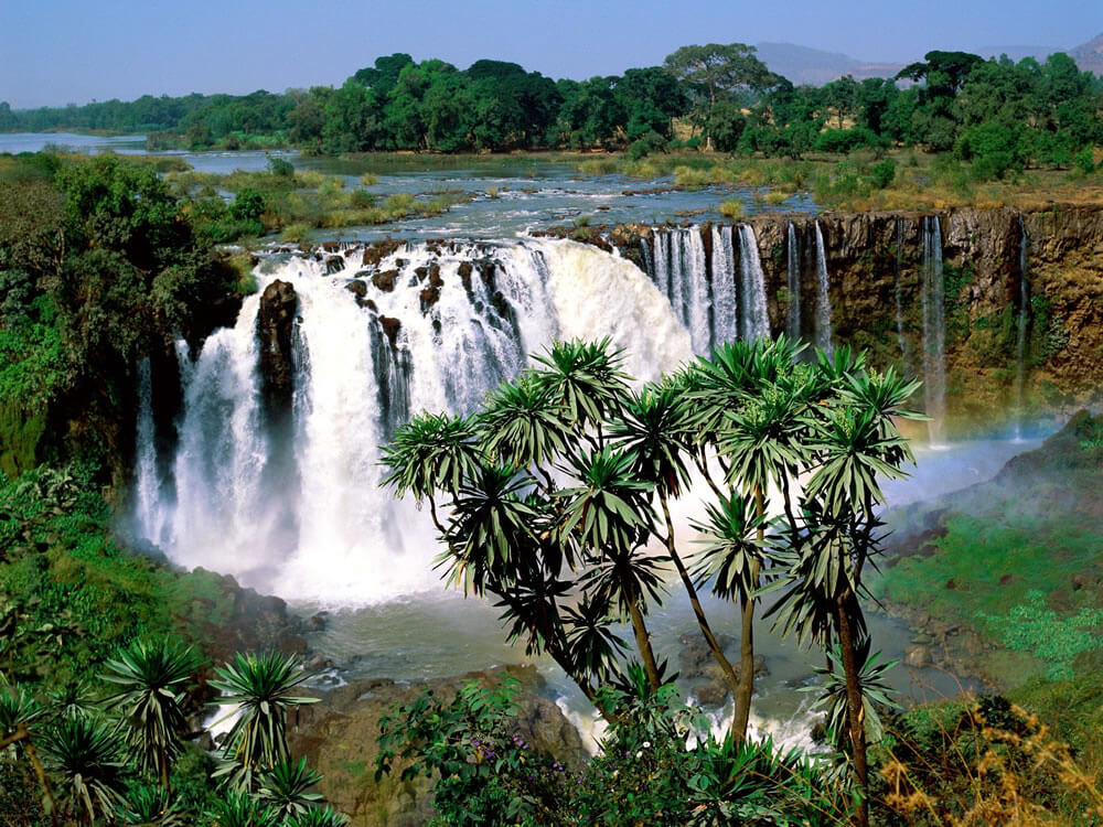 The Blue Nile Falls.
