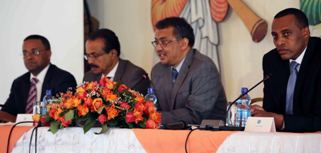 Dr Tedros opens Annual Conference of Ethiopian Ambassadors, Consuls General and Directors General (Aug 12, 2015)